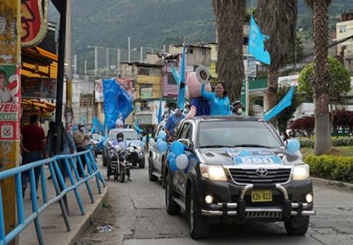 Multitudinario cierre de campaña de Karla Santa Cruz de Renovación Popular